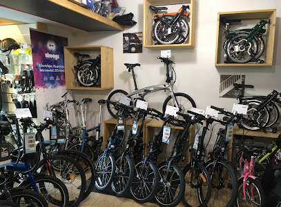 Intérieur magasin de vélos Paris 10e
